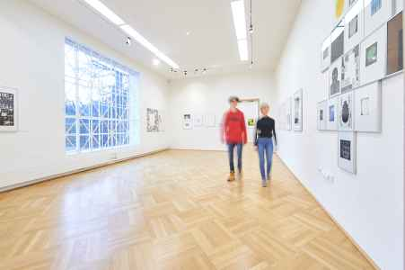 Die Stadt Galerie im Mirabell Garten in Salzburg