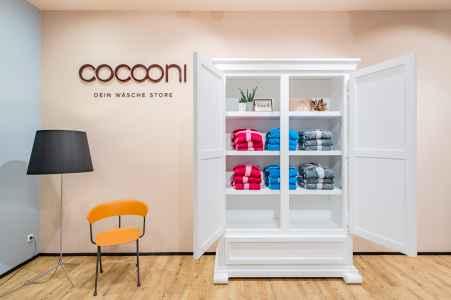 Der neue Cocooni Shop von Huber in der Varena in Vöcklarbruck