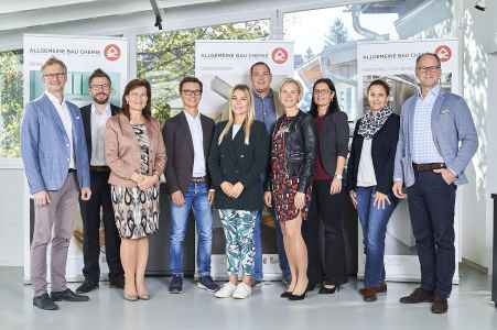 Das Team von der Firma Allgemeine Bau Chemie aus Salzburg