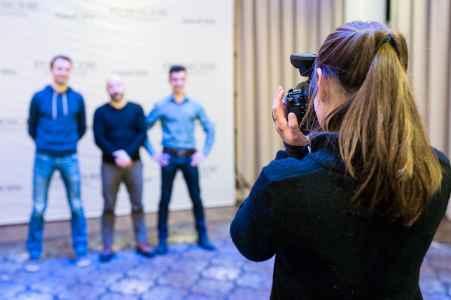 Portraet Fotografie beim Porsche Informatik Kick Off im Hotel Wyndham Grand in Salzburg