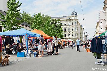 FLOHMARKT FABERSTRASSE ANDRÄVIERTEL SALZBURG